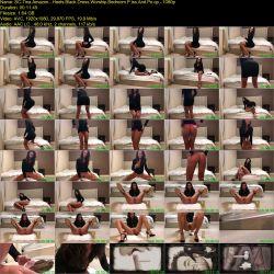 Tina Amazon - Heels Black Dress Worship Bedroom Piss And Poop (2020 / FullHD 1080p)
