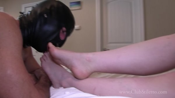 Princess Lily - Cuck, practise sucking on My Toes