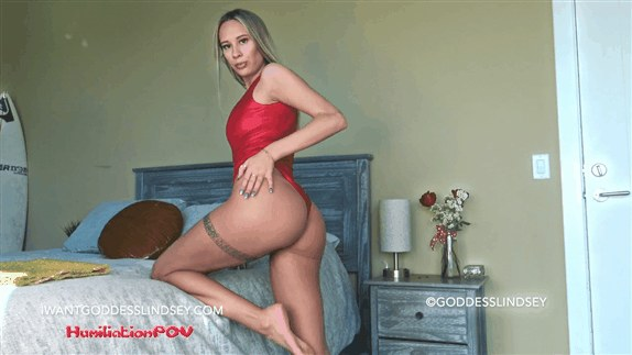 Goddess Lindsey - Lonely Obsessed Gooning Addict, You Can't Stop