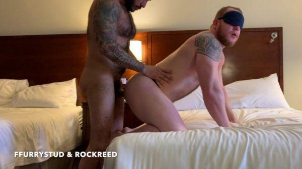 RawFuckclub - FFurryStud & Rock Reed - Hotel Muscle Anonymous CumDump!!