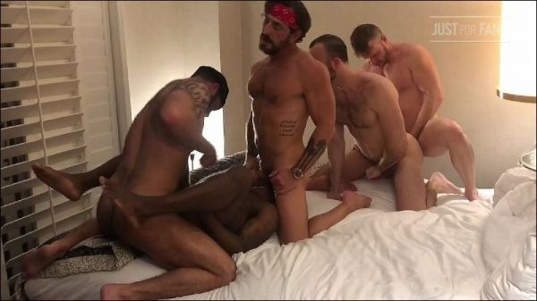 JFF - Hotel 5Way with Brian Bonds, Mason Lear, Micah Martinez,Vince Parker and Jake Nicola