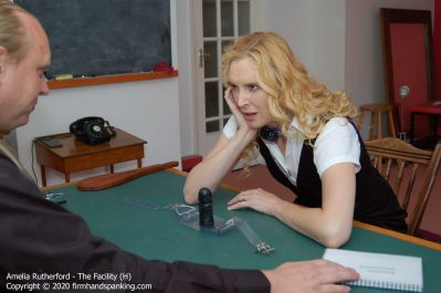 FirmHandSpanking – Amelia Rutherford – The Facility – H