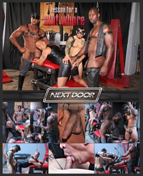 NDE - Lesson for a Slut Whore - Nubius, Luc Bonay, Draven Torres, Aron Ridge