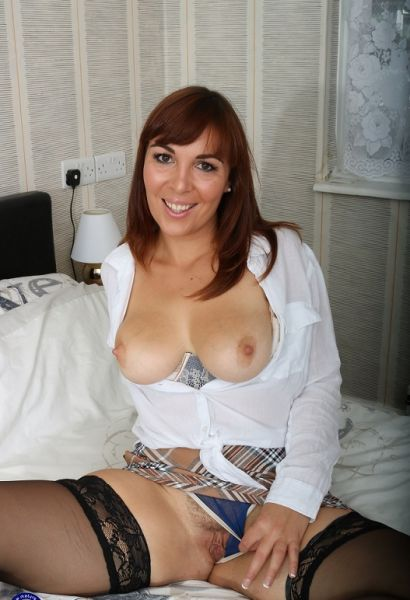 Naughty French MILF Angelique Luka