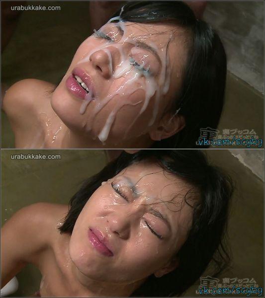Uta Kohaku - Porn Idol Uta Kohaku's Massive Facial Bukkake [FullHD 1080p] (UraBukkake)