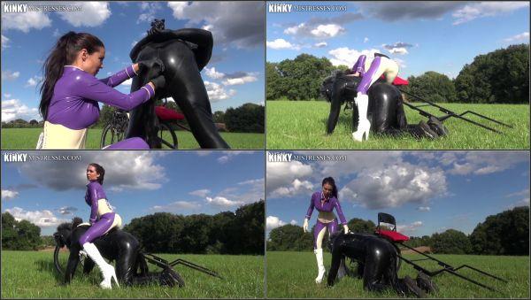 Latex Ponyride [KinkyMistresses] Mistress Susi (269 MB)