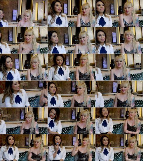 Lola Taylor #1 - Interview before bukkake (30.01.2020) [FullHD 1080p] (Bukkake)