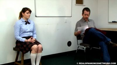 Otk-Spankings – Hailey Is Punished Otk By The Dean