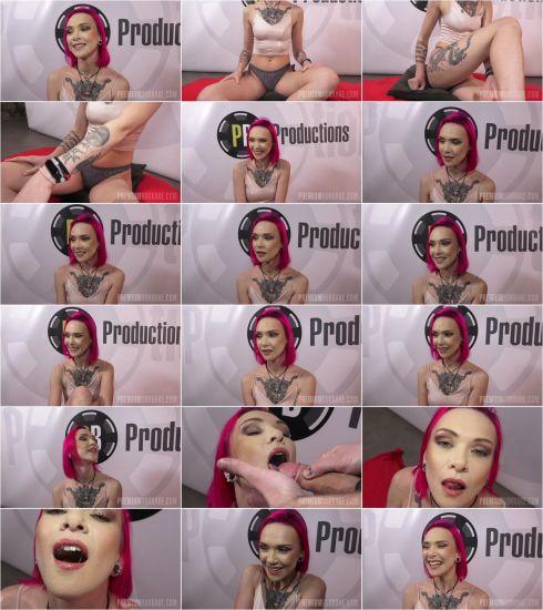 Daniela Ray #1 - Interview before Bukkake (12.02.2020) [FullHD 1080p] (Bukkake)