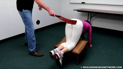 Real Spankings Institute – Kiki's Gym Punishment (part 1 Of 2)