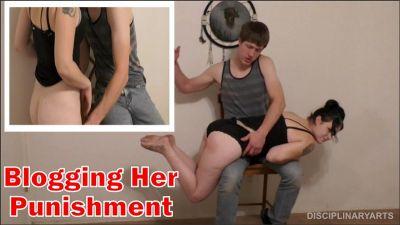 DisciplinaryArts – Blogging Her Punishment – Riley Starr, Kyle Johnson