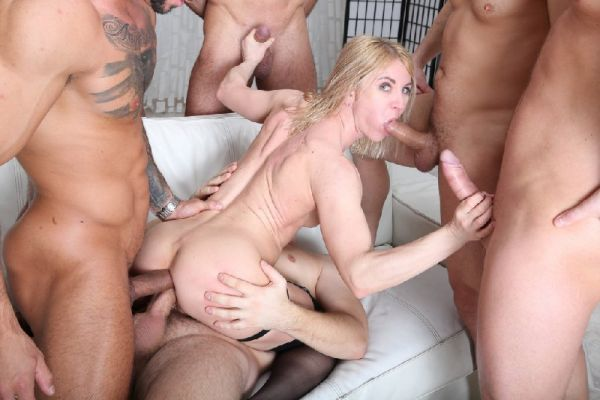 Sindy Rose - Sindy Rose 6on1 Manhandle with Balls Deep Anal, DAP, Buttrose and Swallow GIO1374 (HD/2020) by LegalP0rno