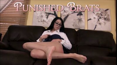 PunishedBrats – Mia Caught Masturbating part 1