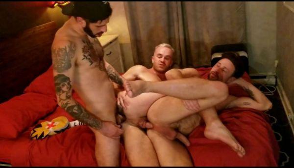 RFC - Romeo Davis - Hot 3-some with Drew Dixon and Jackson Radiz