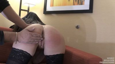 Brittany Punished At Work Part One - Being Late