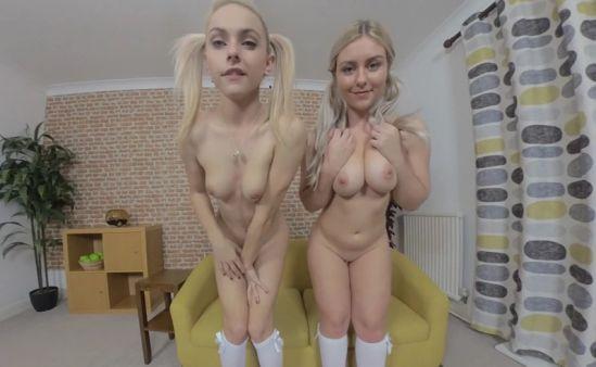 Chloe Toy and Elle H Oculus Rift
