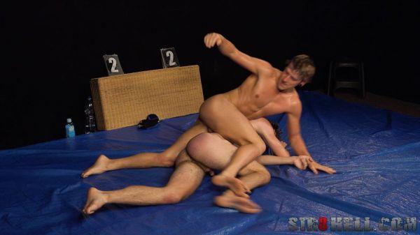 STR8H - Alexandr Jander vs Honza Bilek - WRESTLING