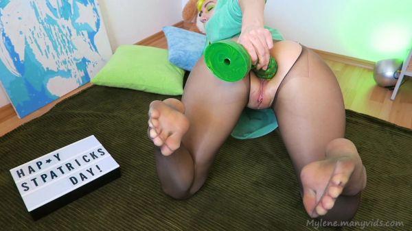 Mylene - Nylon feet, anal gape, @HankeysToys Oni (09.03.2020) [FullHD 1080p] (Dildo)
