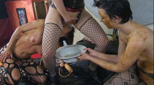 Sluts piss on girl