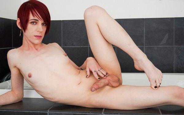 Scarlet Rose Gets Wet