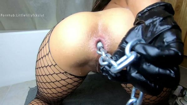 Littlelillyfckslut - Dildo - Nut to My Anal Insertions NOW (FullHD 1080p) [2020]