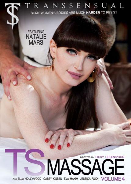 Casey Kisses, Jessica Fox, Natalie Mars, Ella Hollywood, Eva Maxim - TS Massage 4 (Splite Scene) (Transsensual/FullHD/2020)