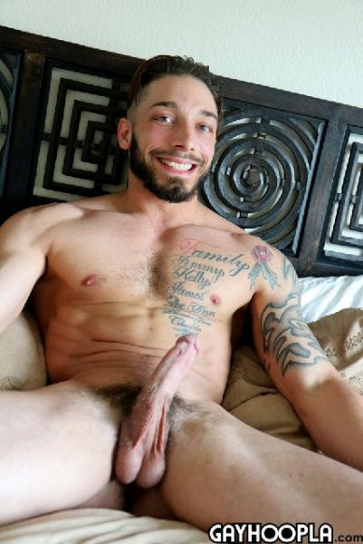 GH - Tatted Nic Rivers Cums Twice