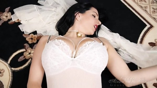 Goddess Alexandra Snow - Wedding Night Ride