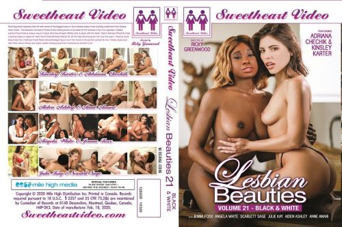 Lesbian Beauties 21 - Black & White (2020)