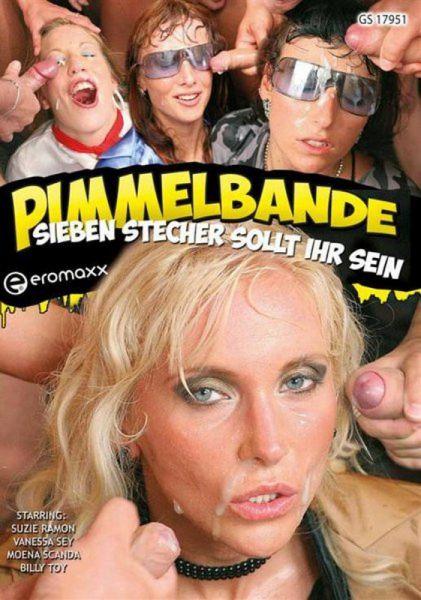 Suzie Ramon, Vanessa Sey, Moena Scanda, Billy Toy - Eromaxx - Pimmelbande: Sieben Stecher Sollt Ihr Sein (SD 406p) [2020]