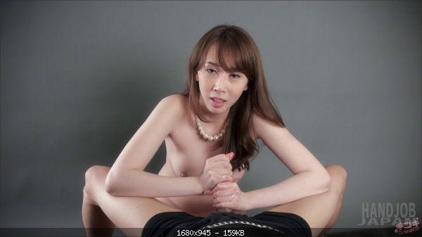 Aya Kisaki's handjob and titjob
