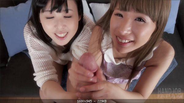 Natsuki Yokoyama and Natsume Hotsuki's Double Handjob
