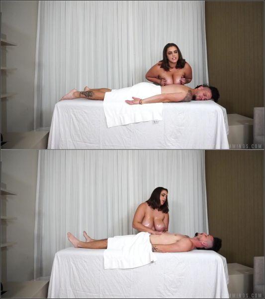 KATIE CUMMINGS - THE MASSEUSE [FullHD 1080p] (Big Tits)