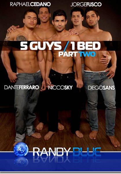 RB - RB2384 - 5 Guys, 1 Bed part 2 - Dante Ferraro, Diego Sans, Jorge Fusco, Nicco Sky & Raphael Cedano