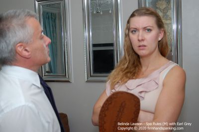 FirmHandSpanking – Belinda Lawson – Spa Rules – M