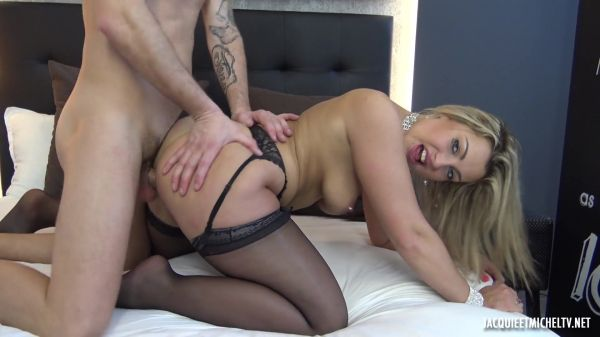 JacquieetMichelTV - Andrea's indecent outfit, 25 years old (31.03.2020) with Andrea (FullHD/1080p) [2020]