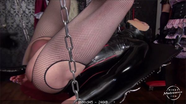 Mistress Susi's - The TV Bitch Has to Take Our Strap-on