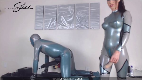 Mistress Susi's - Venus2000 milking with Feelodoe Fucking Webcamshow