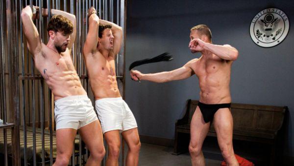 FF - Submission Prison - Scene 1 - Nate Grimes, Drew Dixon & Myles Landon