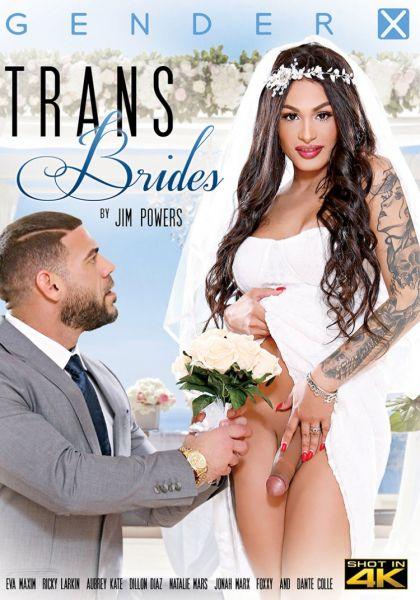 Aubrey Kate, Foxxy, Natalie Mars, Eva Maxim - Trans Brides (GenderX/FullHD/2020)