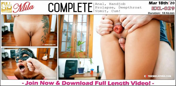 ExtremeLatina - Complete - EXL-029 (18.03.2020) with Mila (FullHD/1080p) [2020]