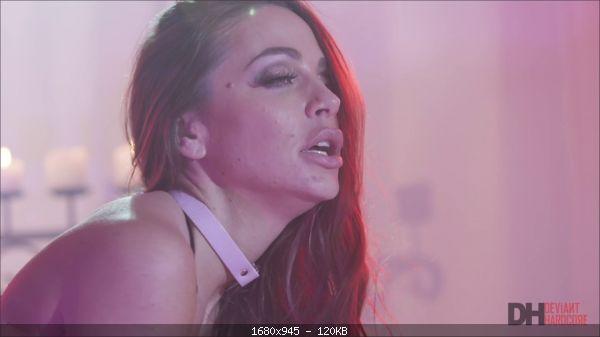 Abigail Mac, Gabbie Carter - Hot Dominatrix Abigail Mac spanks and dominates busty Gabbie Carter