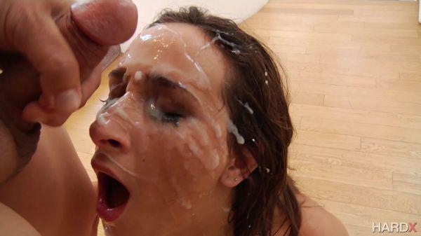 10 Guys Blowbang - Ashley Adams - HardX
