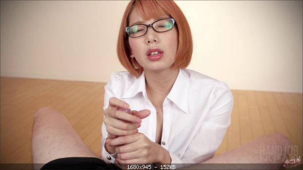 Chie Kobayashi - Sexy Chie Kobayashi's handjob