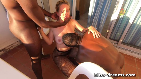 Elisa-Dreams: Elisa Dreams - Sex Challenge 2019 - Hotwife gets all her holes filled by two blacks (28.03.2020) (FullHD/1080p)