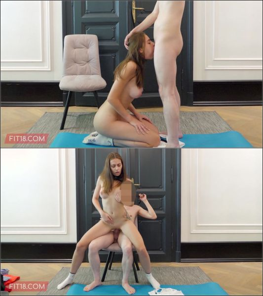 Victoria J - Downward Doggy Style [FullHD 1080p] (Fit18)