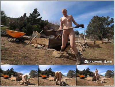 BondageLife – Gardening With Greyhound – Rachel Greyhound
