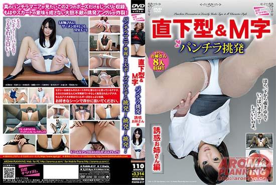 PARM-017 Sister Temptation Hen-shaped Underwear & M Provocation Epicentral