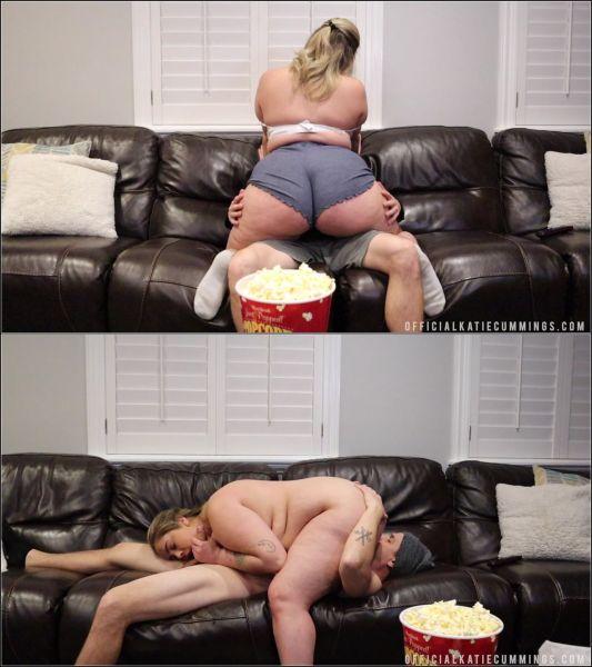 Big Tits - QUARANTINE & CHILL (29.03.2020) with KATIE CUMMINGS (FullHD/1080p) [2020]