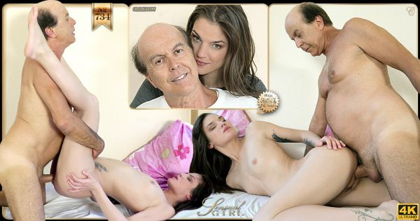 Young: Nana Garnet - №734 Old & Young Testing The Bed (FullHD/1080p)